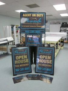 Real Estate Outdoor Yard Signs